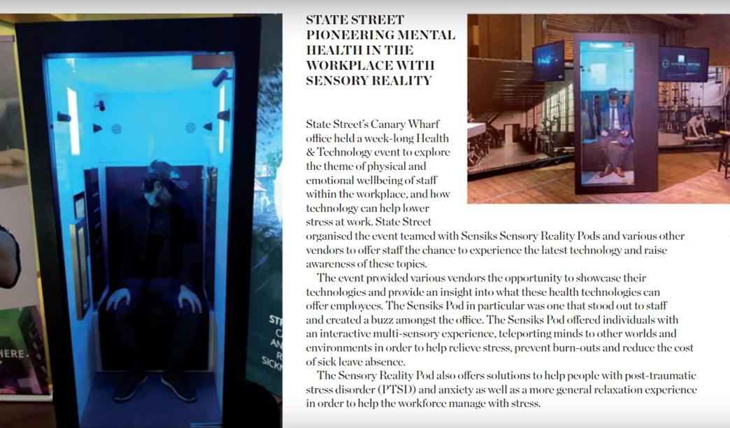 state street canary wharf mental health sensory reality