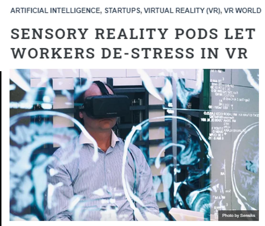 Tno Sensiks stress grant VR