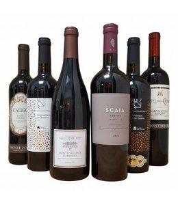 Wijnpakket Italiaans Rood