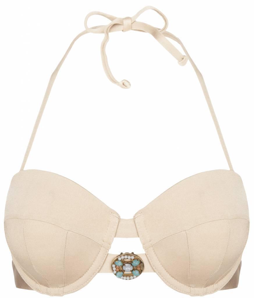 9aafebcb5e Boho Bikini s Bikini Bandeau Top Devine Boho Bikini s - Ivory