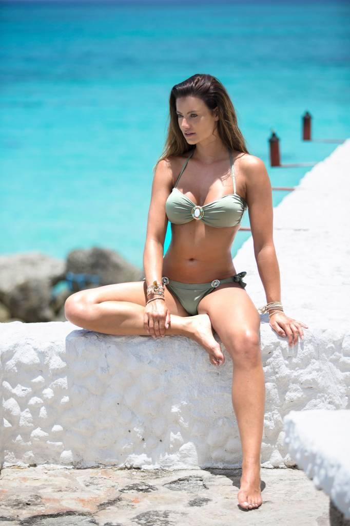 8b45971b59 Boho Bikini s Bikini Bottoms Glossy Boho Bikinis - Aztec