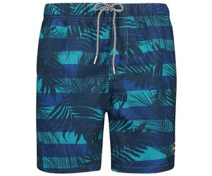 0260030a7 Shiwi Men Swim Shorts Graphic Leaf Shiwi- Petrol
