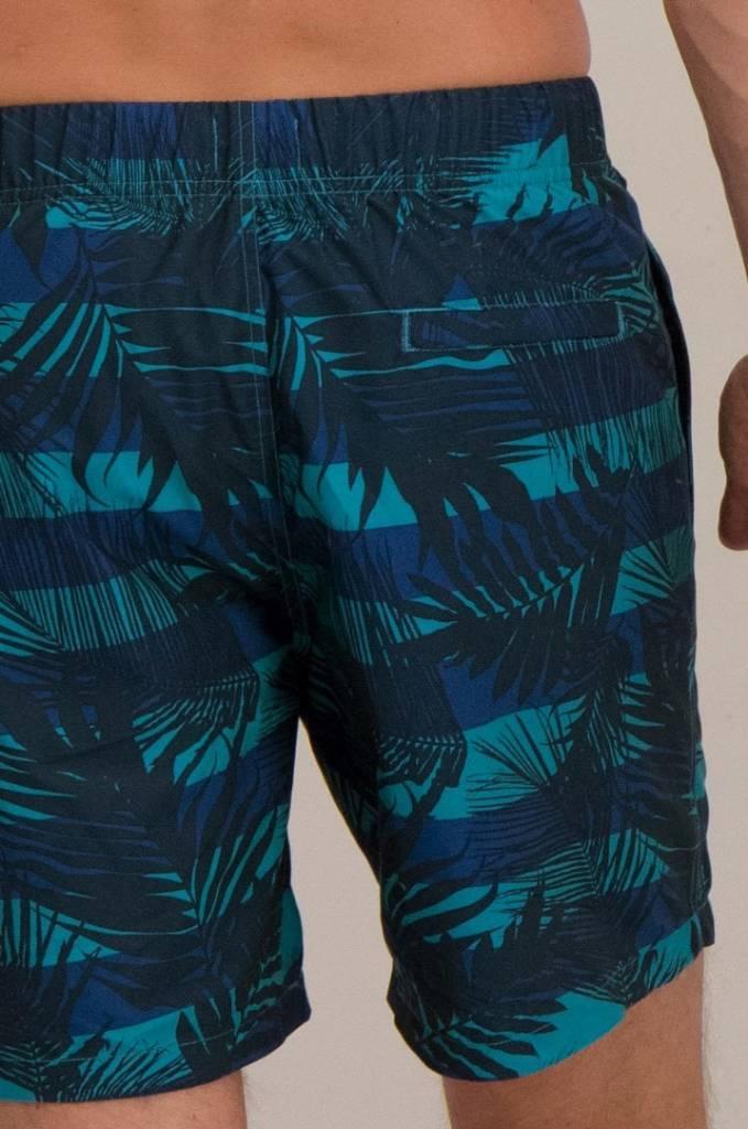 fe72b7238 Shiwi Men Swim Shorts Graphic Leaf Shiwi Petrol