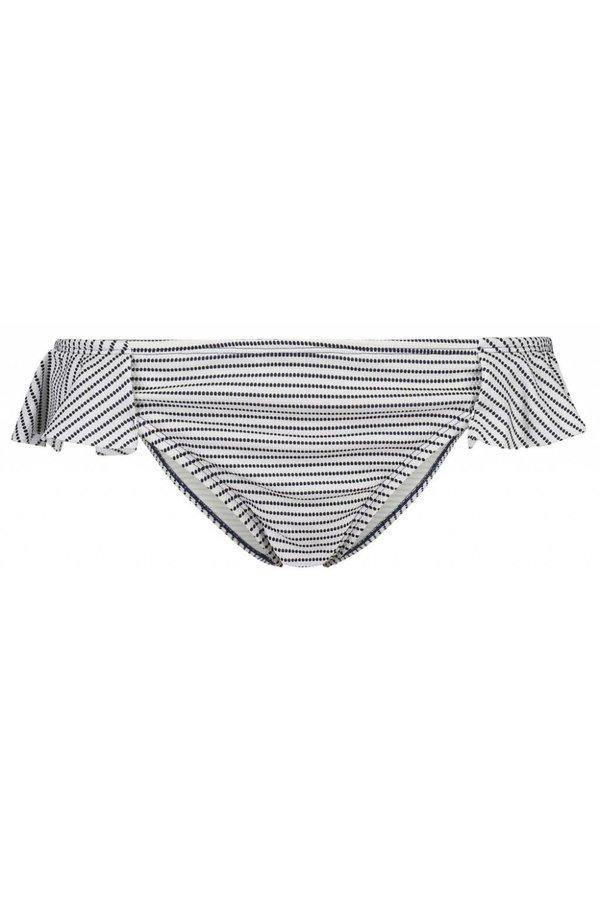 45baf5f7680ec Shiwi Bikini Bottoms Low Waist Bondi Beach Shiwi - Black   White