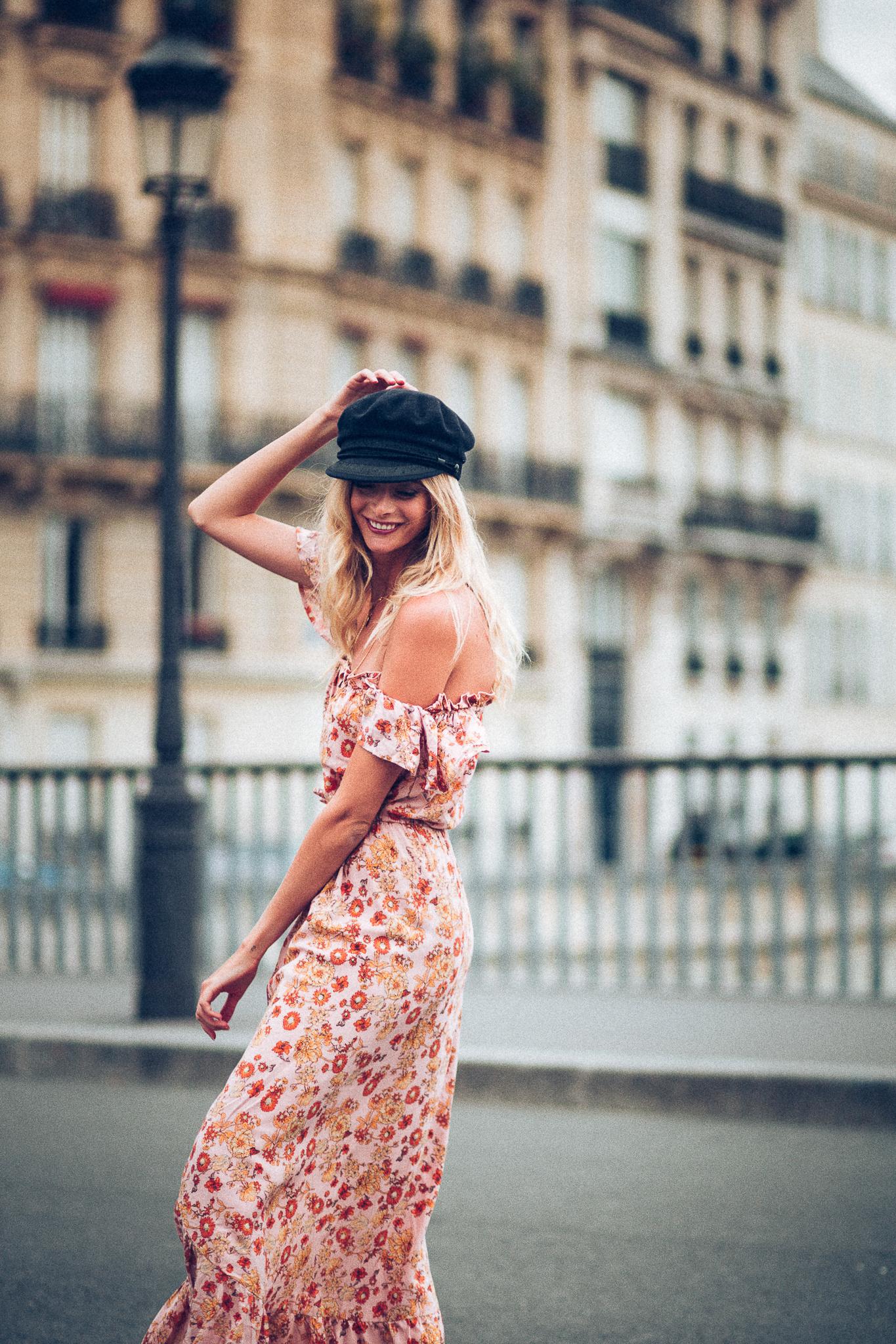 7f685bbeebd5c Poppy Field Maxi Dress Seal Rock Poppy Field - Old Pink