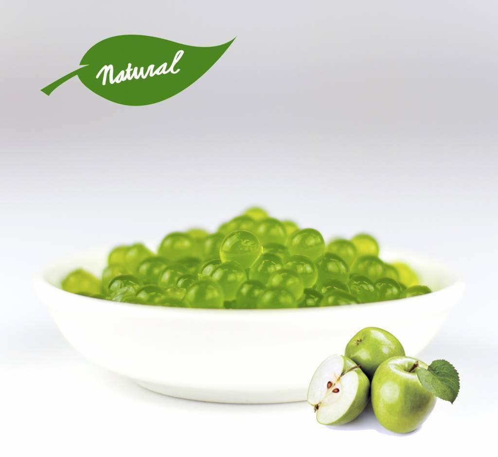 1kg pot Perles de fruits - Pomme Verte -