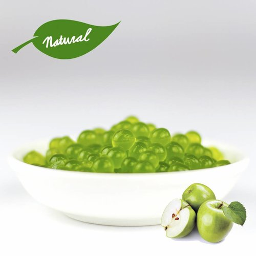 1kg Vaso perle di frutta - Mela Verde -