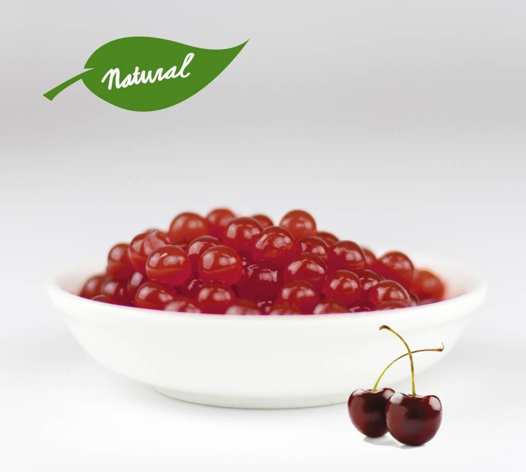 1kg jar Fruit pearls Cherry