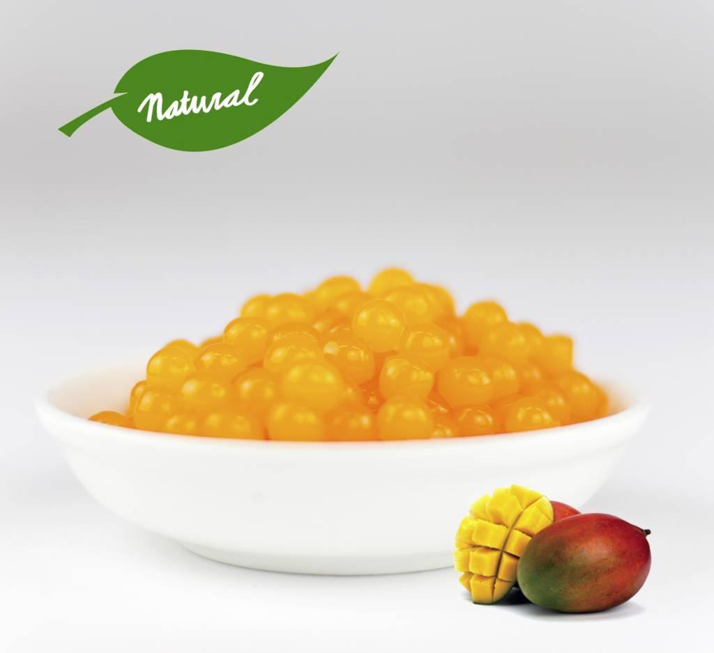 1kg jar Fruit pearls Mango