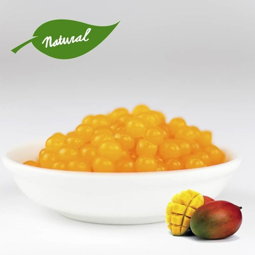 1kg Becher Fruchtperlen Mango