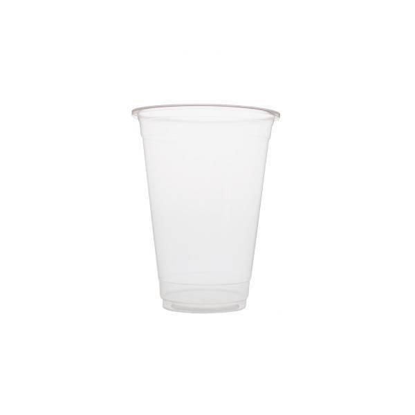 Plastic bekers 500ml Blanko
