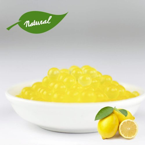 - Lemon - Fruit Pearls ( 3.2kg TUBS )