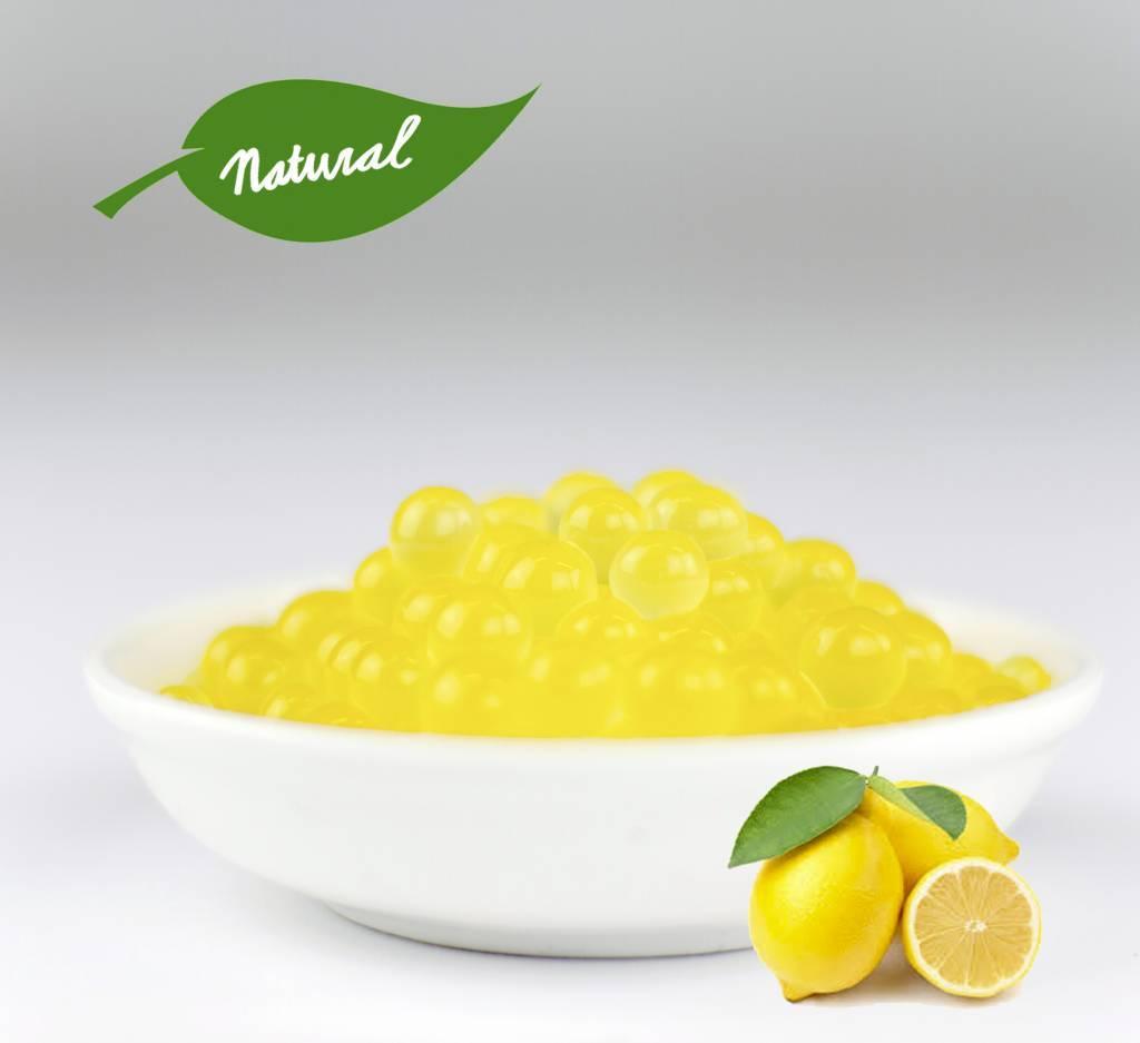 Fruchtperlen für Bubbletea - Zitrone - ( 3,2 kg)
