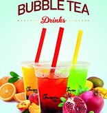 Cartel de Bubble tea A1