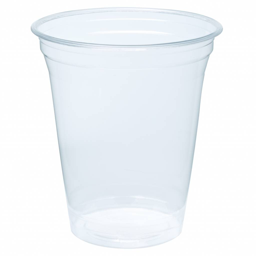 Biodegradable - Bioplastic cups 360ml Blanko