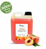 Premium - Peach - Fruit syrup
