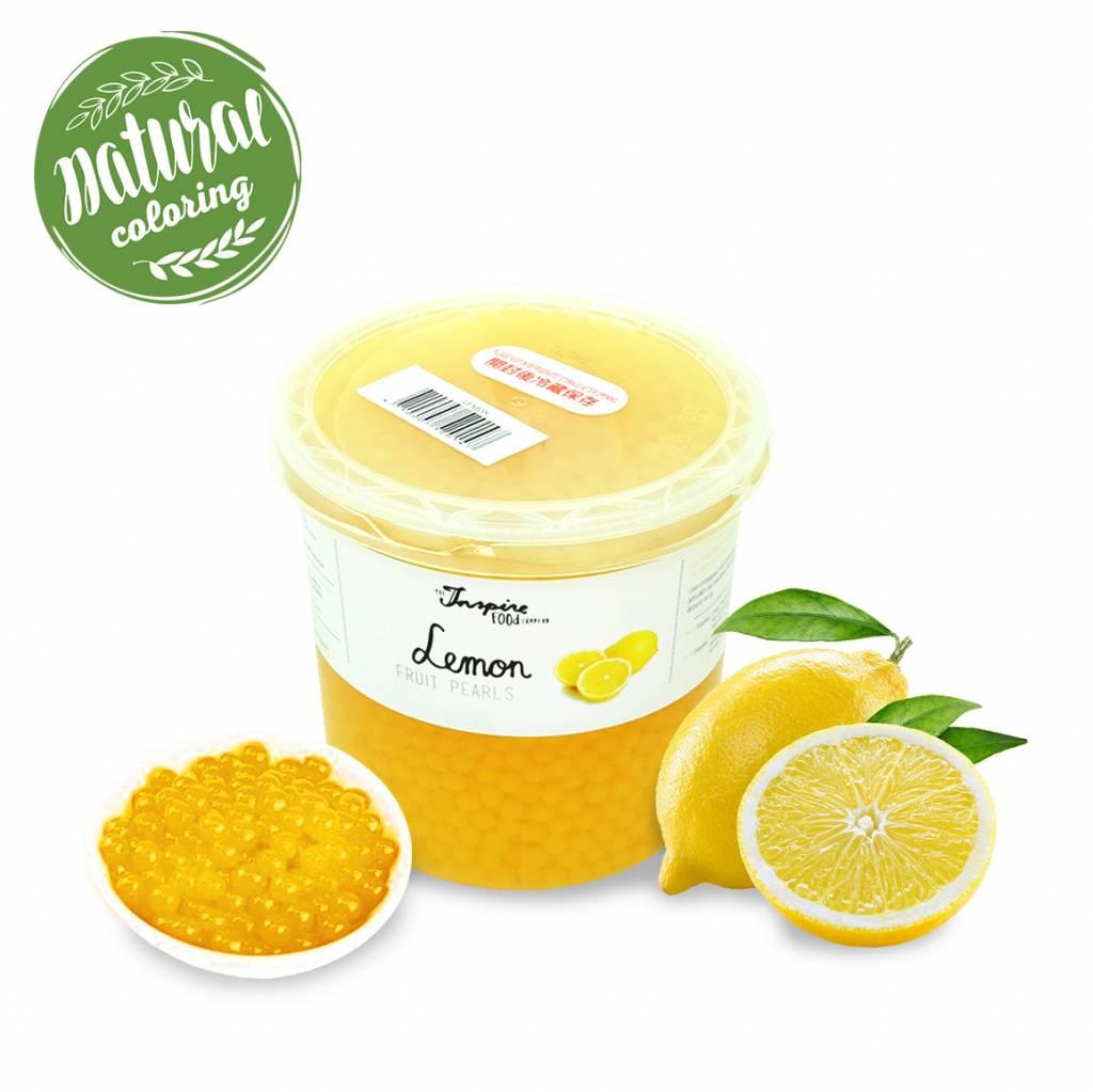 - Lemon - Fruit Pearls ( 3.2kg TUBS )
