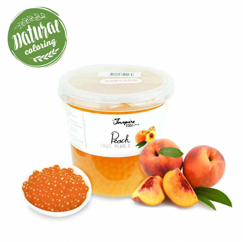 - Peach - Fruit Pearls ( 3.2kg TUBS )