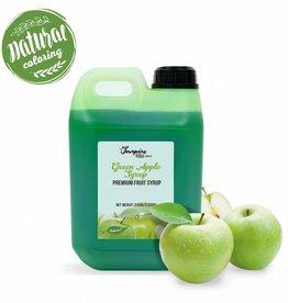 Premium - Green Apple - jarabe en primer lugare de frutas