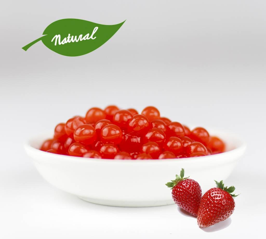 450gr tazas perlas de Frutas - Fresa -