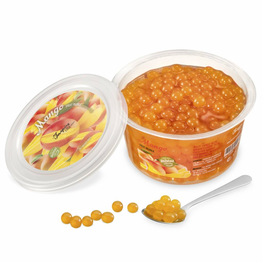 450gr cups Fruit pearls Mango