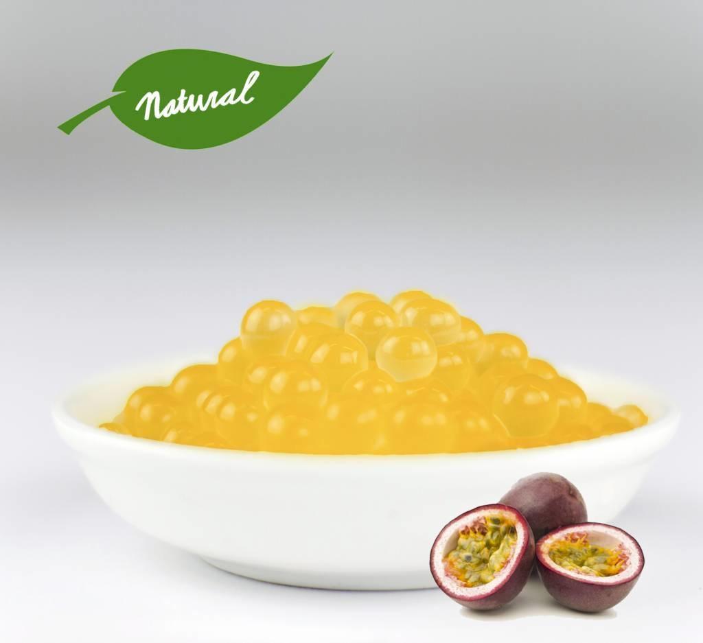1kg tarro perlas de Frutas -Fruta de la Pasión -