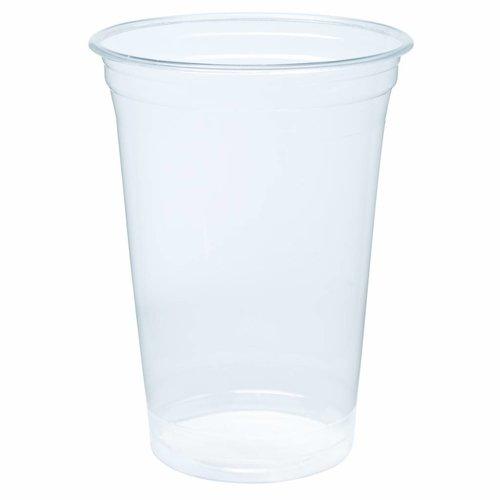 Biodegradable - Bioplastic cups 700ml Blanko