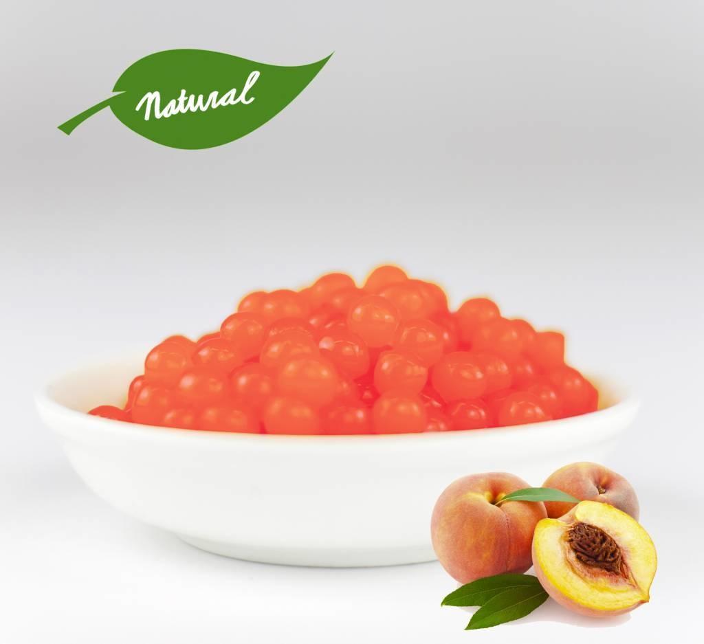 1kg pot Fruit parels Perzik