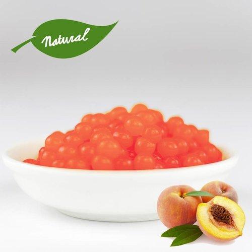 1kg jar Fruit pearls Peach