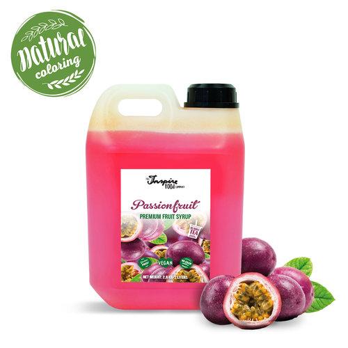 Premium - fruta de la pasión - Jarabe de frutas -