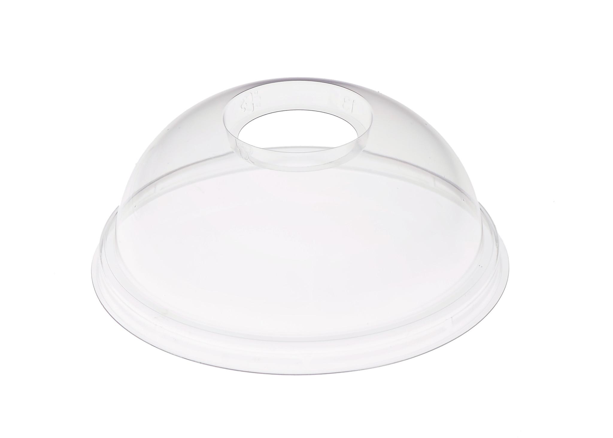rPET - Coperchi a cupola da bicchiere