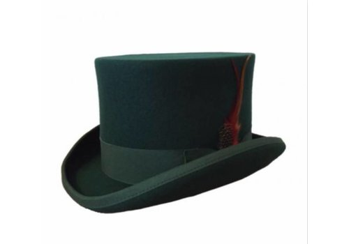 Karma Top Hat Dark Green