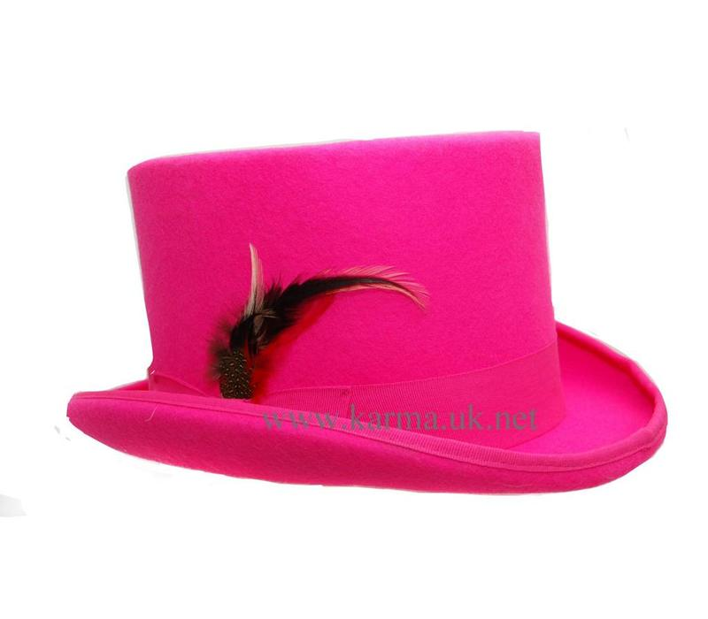 Top Hat Hot Pink