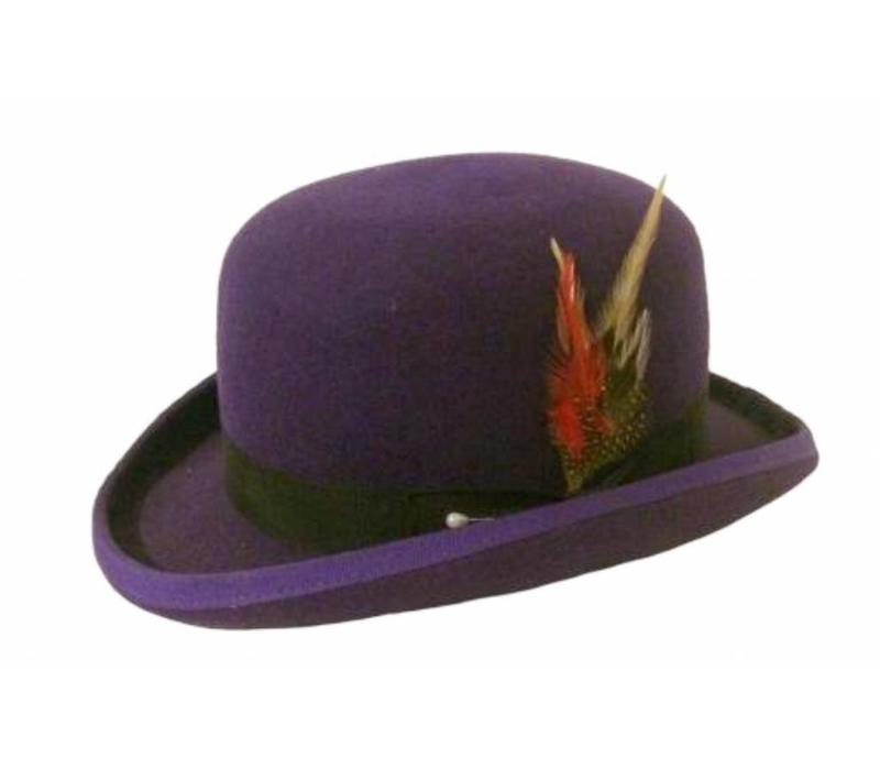 Bowler Hat Purple