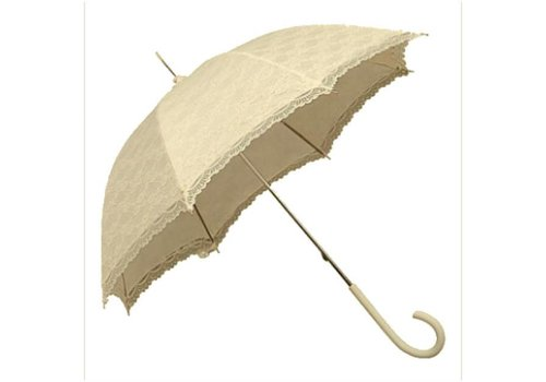 Umbrellas SI0147A-CREAM LACE UMBRELLA