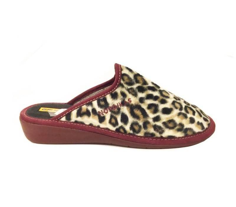347/8 ETHER Leopard print Slippers