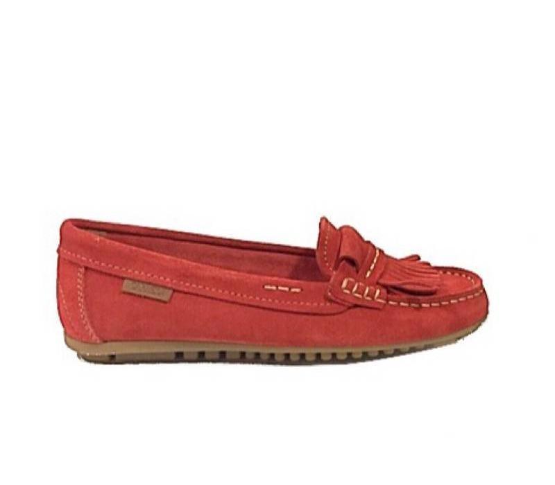 Carmela 65638 Red Suede