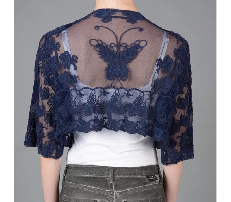 JLR8A-2 Vintage Lace Butterfly Jacket