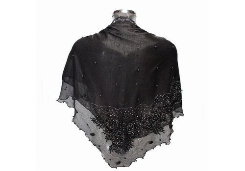 Kelly Craig Ke1704041-1 Black Triangle Scarf