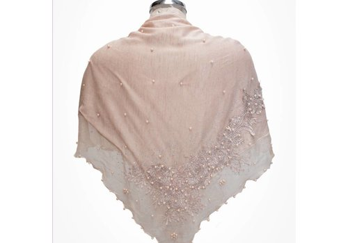 Kelly Craig Ke1704041-2 Mink Triangle Scarf