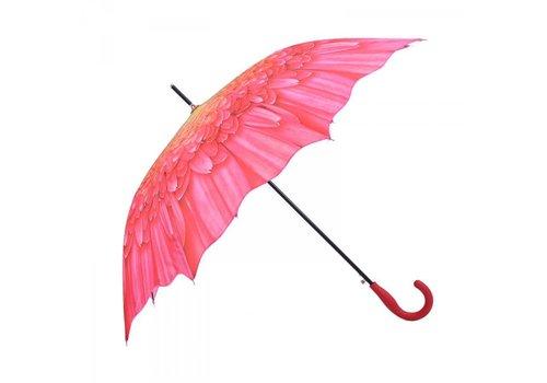 Umbrellas 1379 Pink Sunflower Umbrella