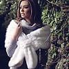 Kelly Craig Ke1704061 Faux Fur Stole White