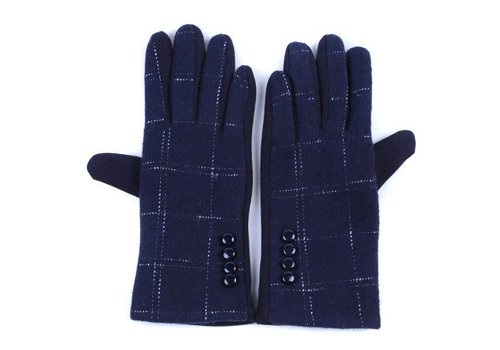 Peach Accessories HA-26 Navy Gloves