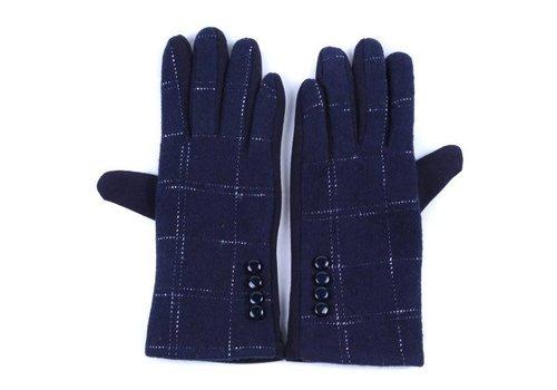 Peach Accessories HA-26 Navy Gloves