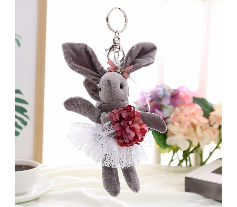 B3 Lucky Bunny keyring