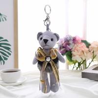 B4 Grey Bear keyring