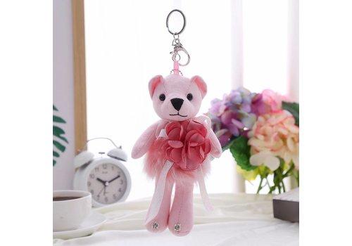 Peach Accessories B4 Pink Bear keyring