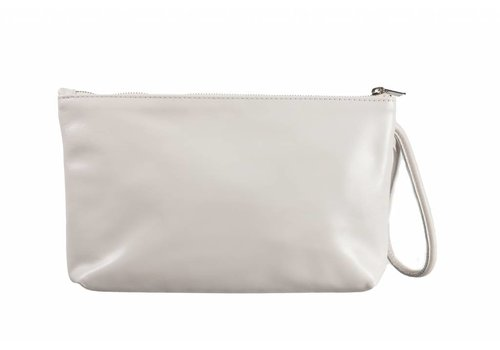 Le Babe Le Babe Bag Cream Leather Zip top