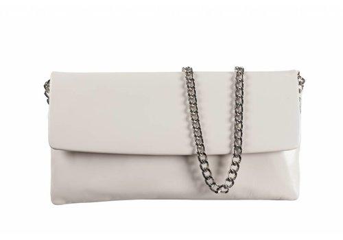 Le Babe Le Babe Bag Cream Leather Flapover