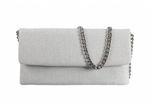 Le Babe Le Babe Bag Galassia Silver Flapover